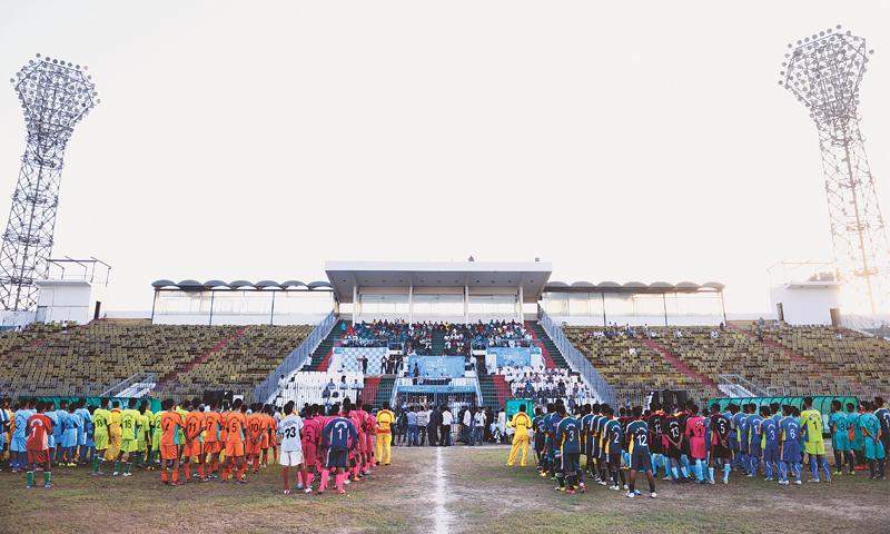 U16 Lyari Football League kicks off with a bang [Dawn]