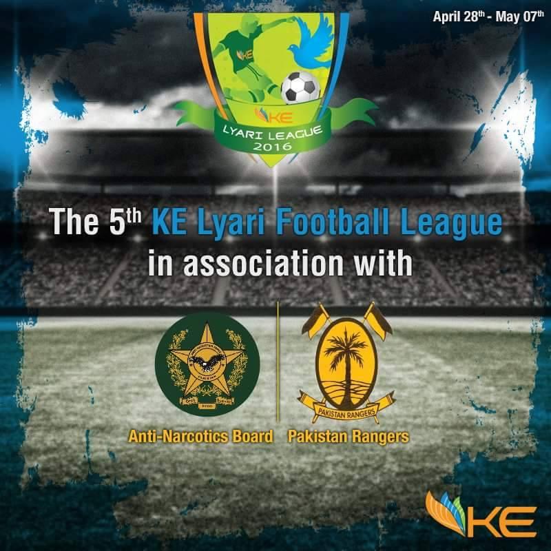 5th KE U16 Lyari League 2016