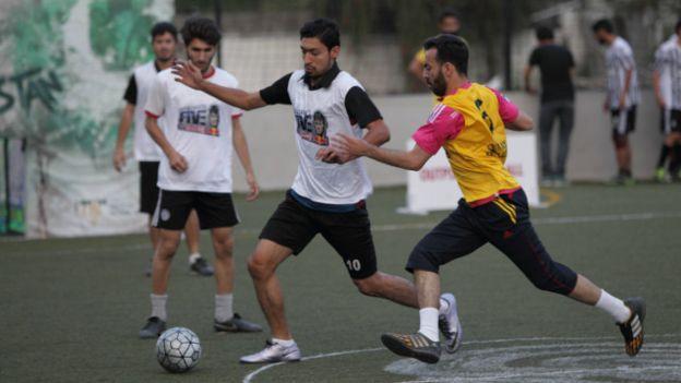 Ghosts FC (Peshawar) vs Highlanders Academy (Islamabad) - Neymar Jr's Five Pakistan semis