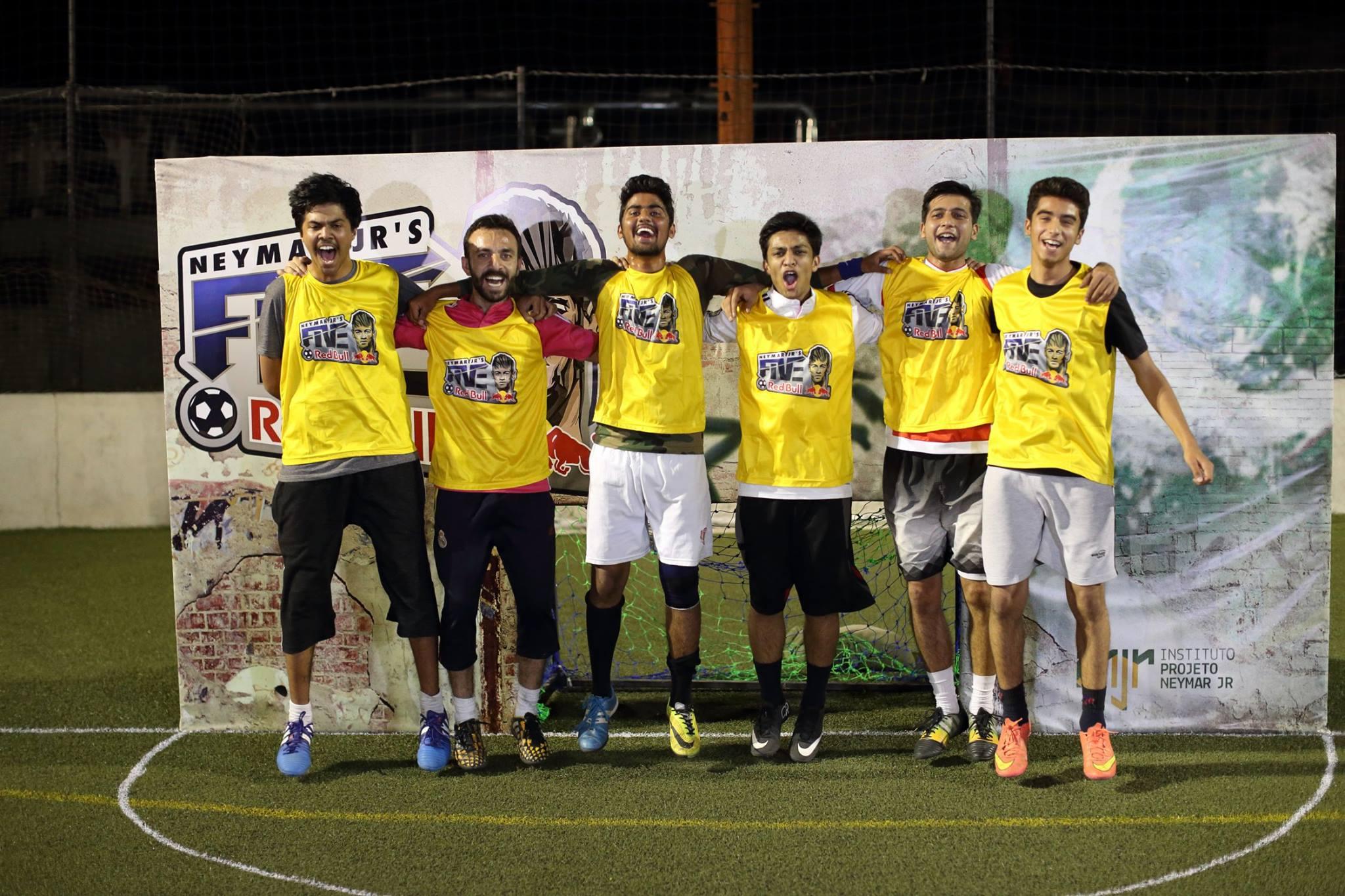 Ghosts FC make Neymar Jr's Five world finals [Dawn]