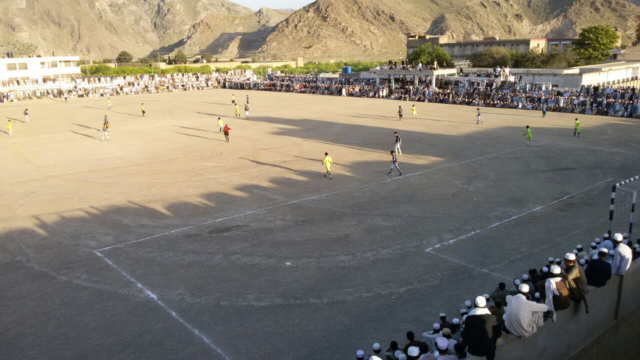 Govt Centennial Model High School Ground Landikotal, Khyber Agency.