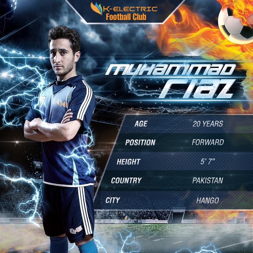 Muhammad Riaz - K-Electric FC