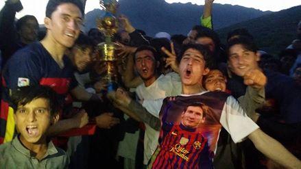 Karkanai FC celebrate win