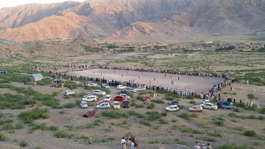 Khyber Kunj Ground in Khyber Agency FATA