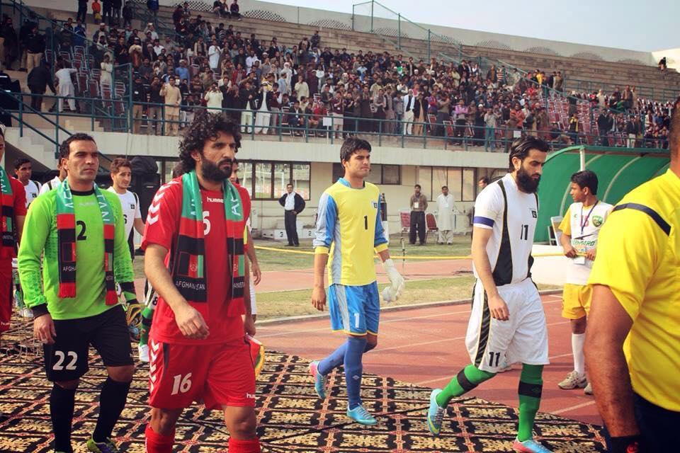 Hassan Bashir for Pakistan vs Afghanistan