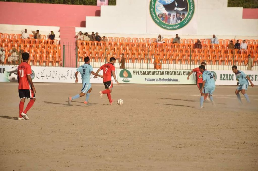 Quetta vs Chaman action - PPL Balochistan Cup 2016 final