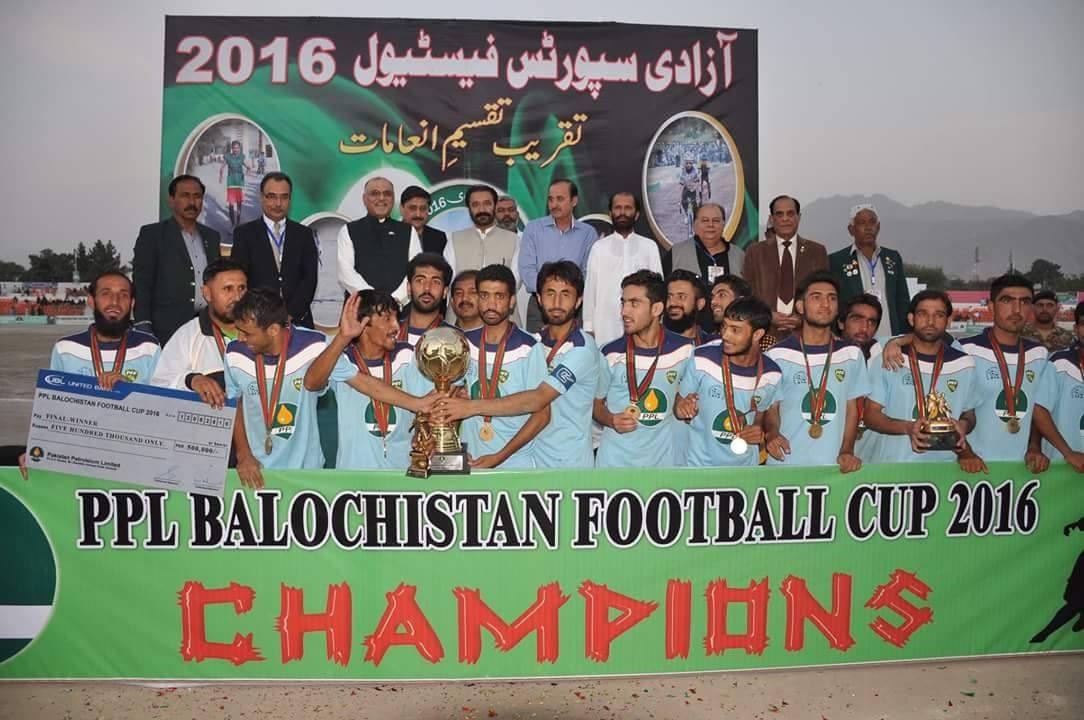 Balochistan Cup: Quetta declared province's champions [Express Tribune]
