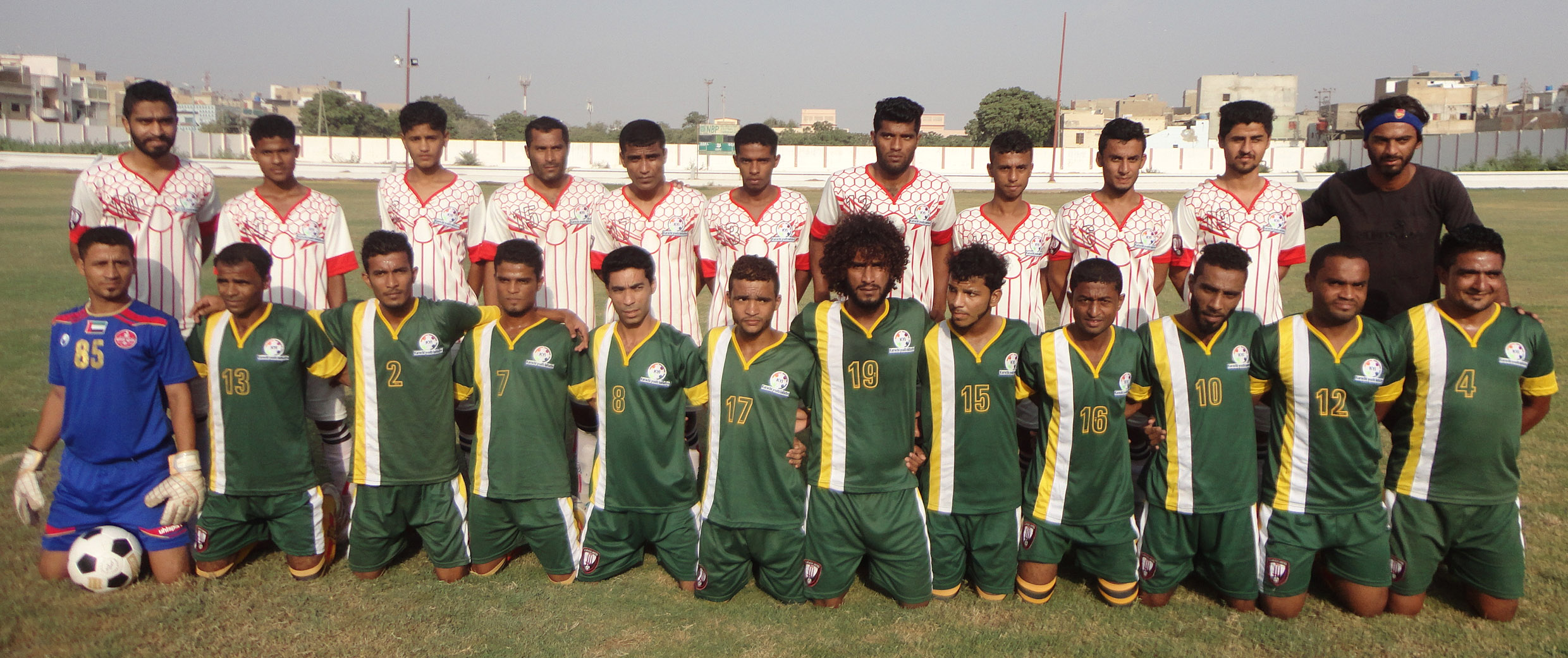 "Two more matches of Group ""B"" have been decided in 13th Karachi Football League"