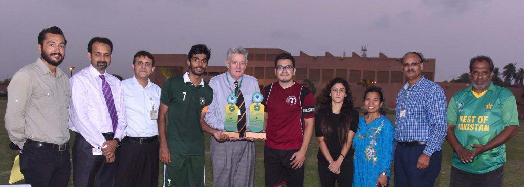Institute of Business Management wins 14th (AKU) Inter-University Football Tournament