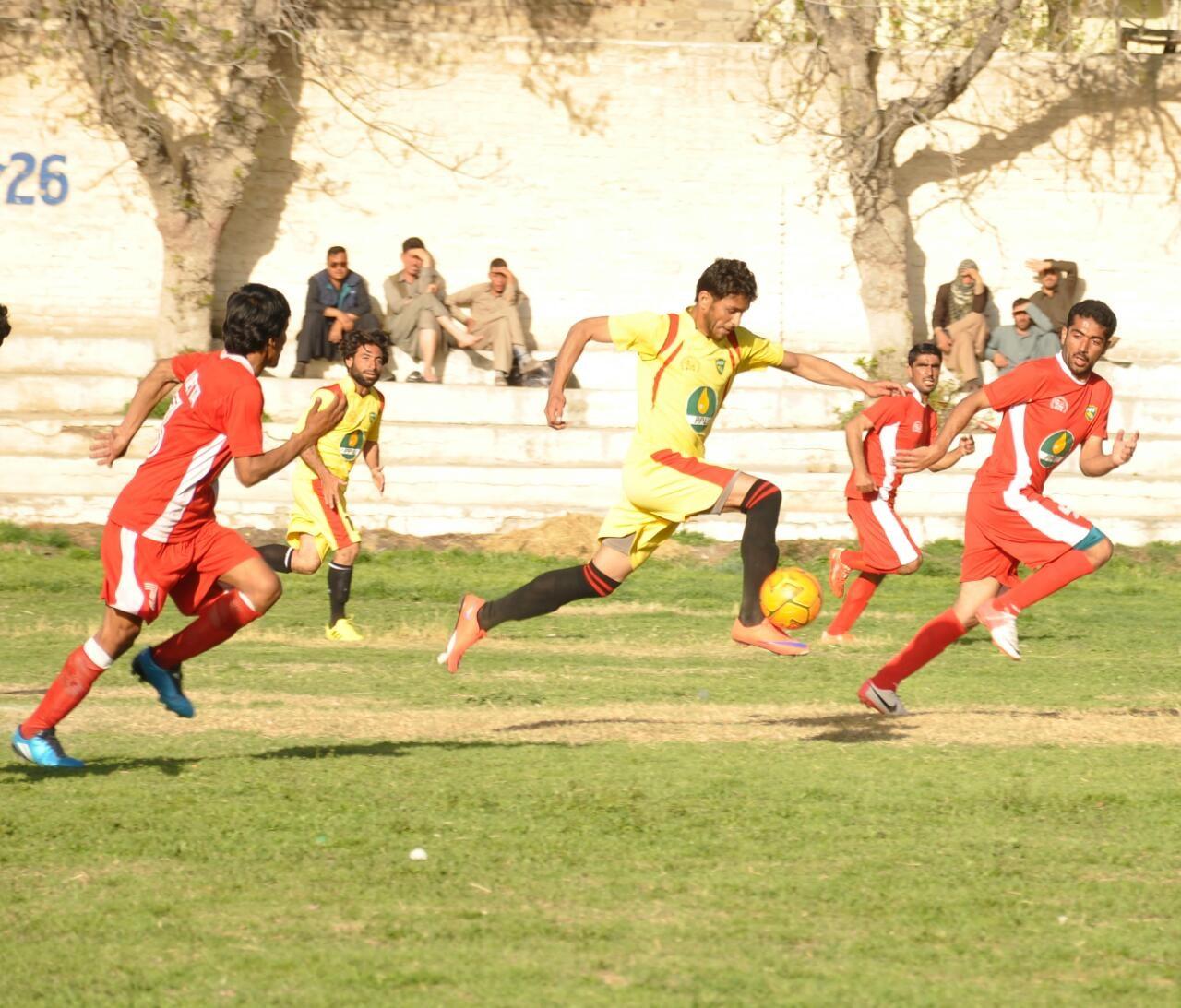 Quetta City beats Jaffarabad by massive 11 goals.