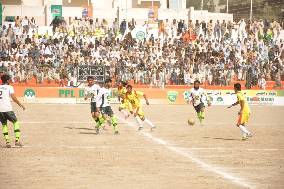 Panjgur clinches PPL Balochistan Football Cup 2017.