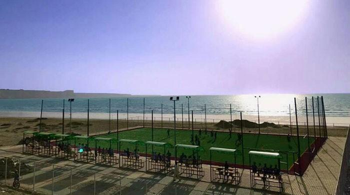Gwadar gets state-of-the-art football facility [GEO]