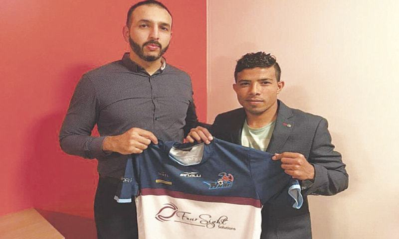 Winger Adil joins Australian club on short-term deal [Dawn]