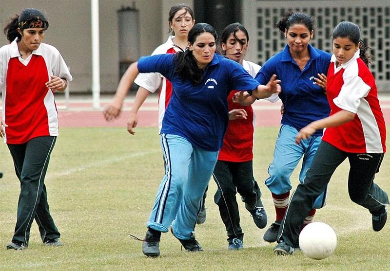 Madar-e-Millat Women Football in early April [The News]