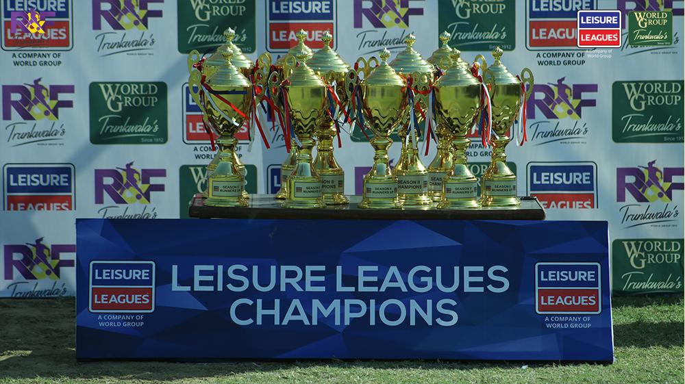 Leisure Leagues Season 2 completes as five champions emerge