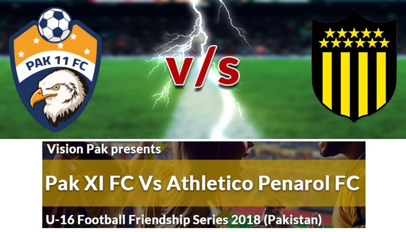 Pak XI FC vs Atletico Penarol football series next year [Nation]