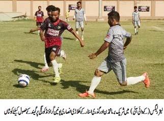 Irfan scores five in Metroville Star FC two triumphs in Leisure Leagues Karachi Youth Initiative Football