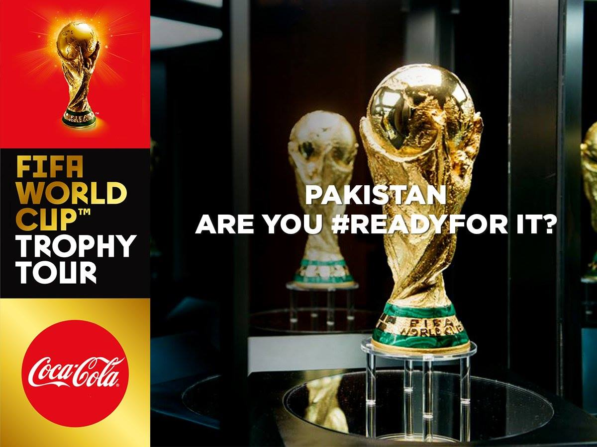 More than a visit: Can the FIFA World Cup Trophy's visit reignite Pakistani football?