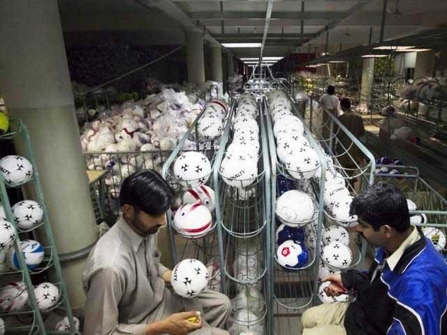 Pakistan football exports go up by more than 10 percent [The Nation]