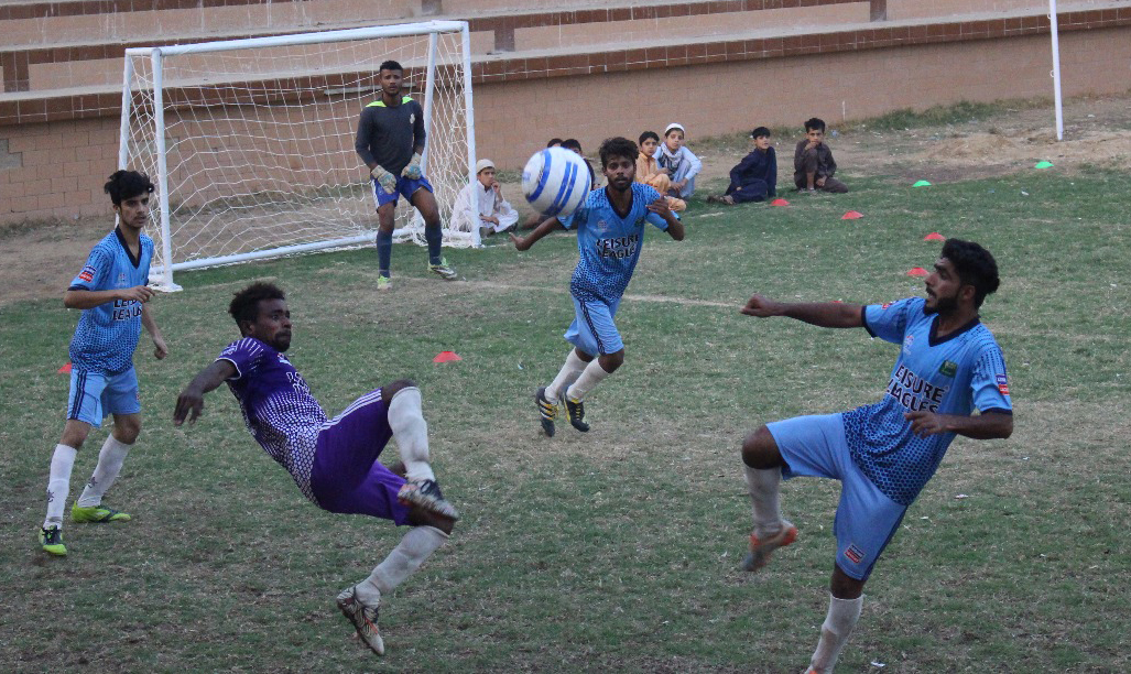 Ali Raza stars in Hazara United triumph in Leisure Leagues  Karachi Youth Initiative Football Tournament
