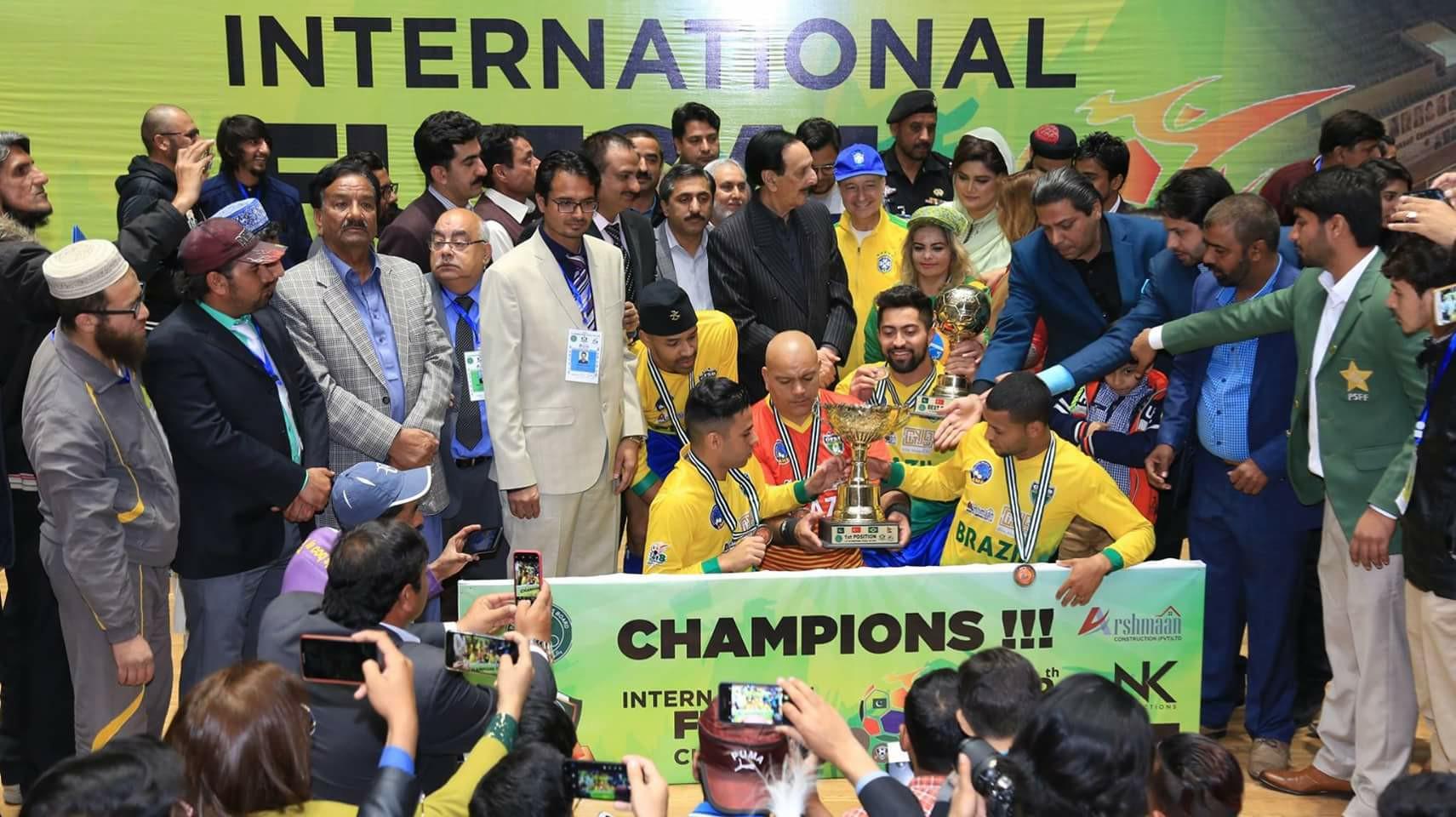 Pakistan must develop indoor facilities for futsal: Enzo [The News]