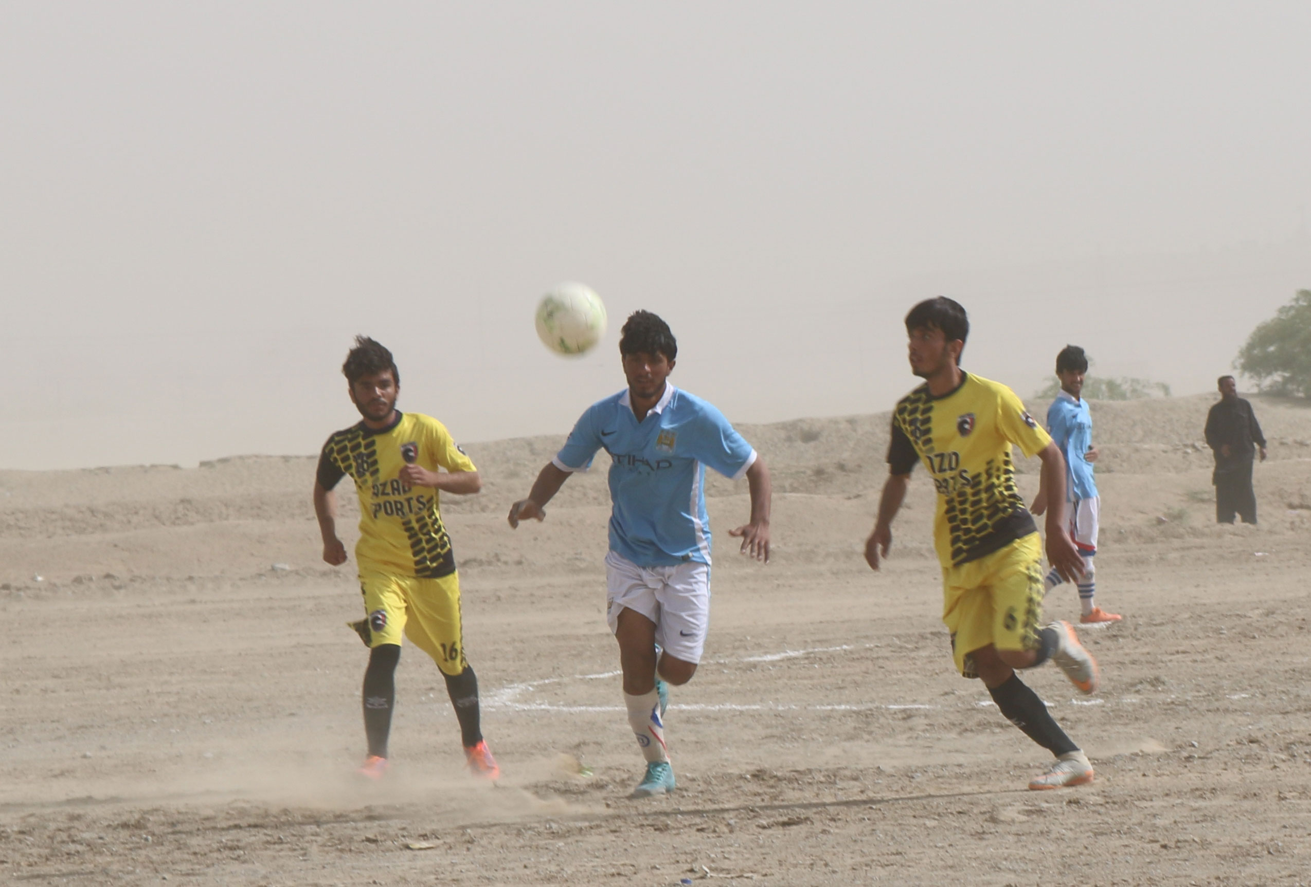Ufone Balochistan Football Cup: Teams battle it out in Noshki for a place in the Quarterfinals