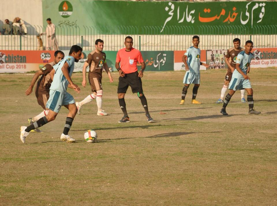 Gwadar knock out Chaman City in first quarter-final [The News]