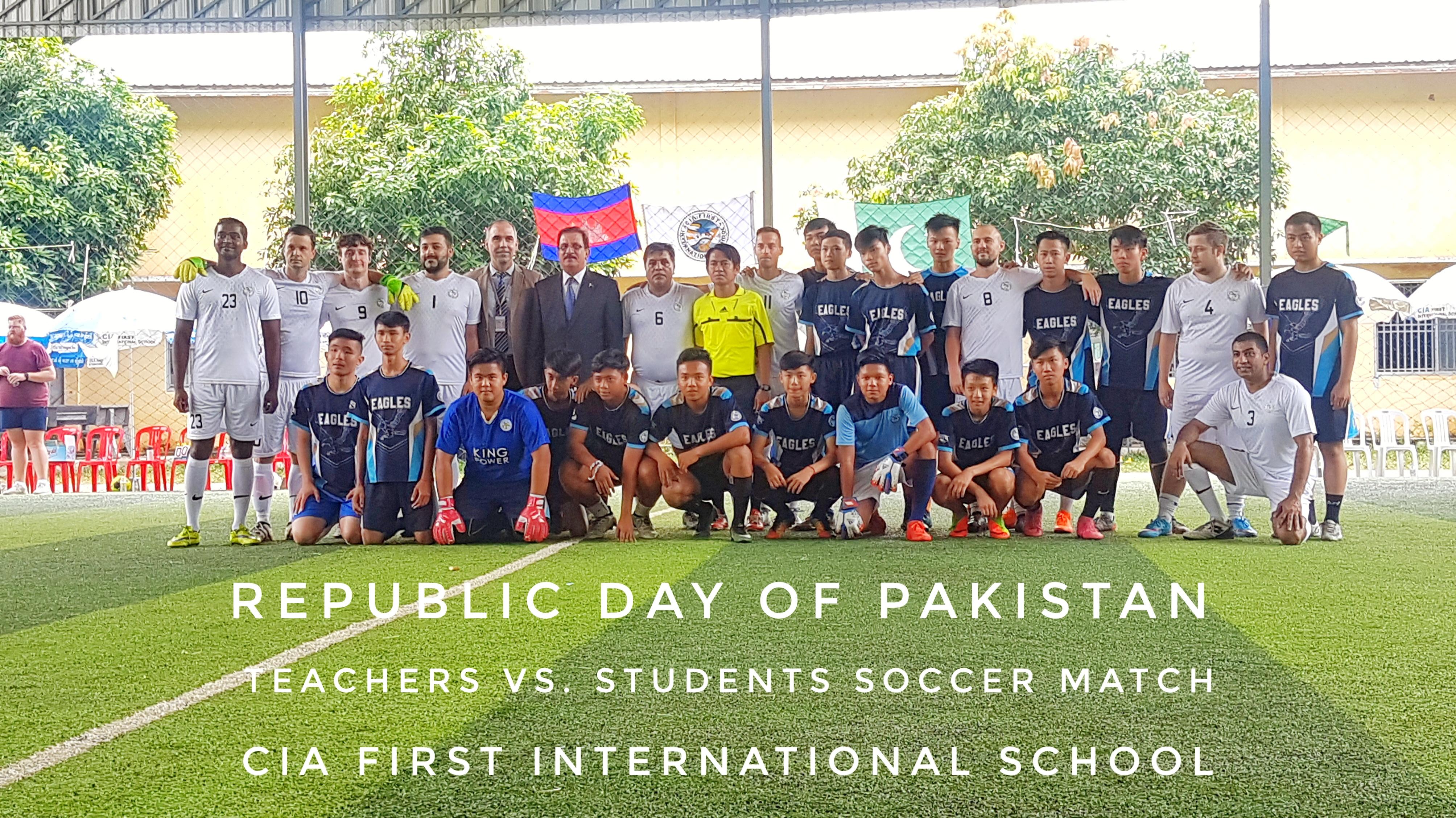 Pakistan day in Cambodia