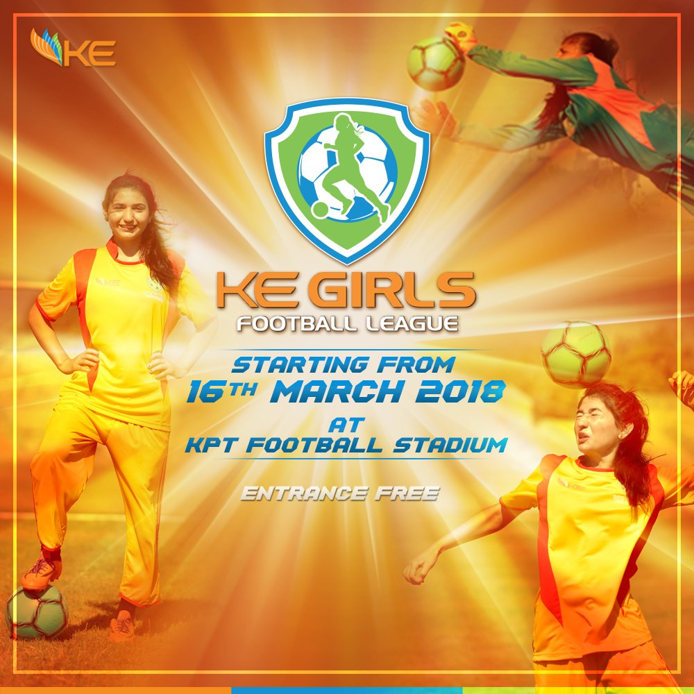 First-ever football league for girls begins today [Dawn]