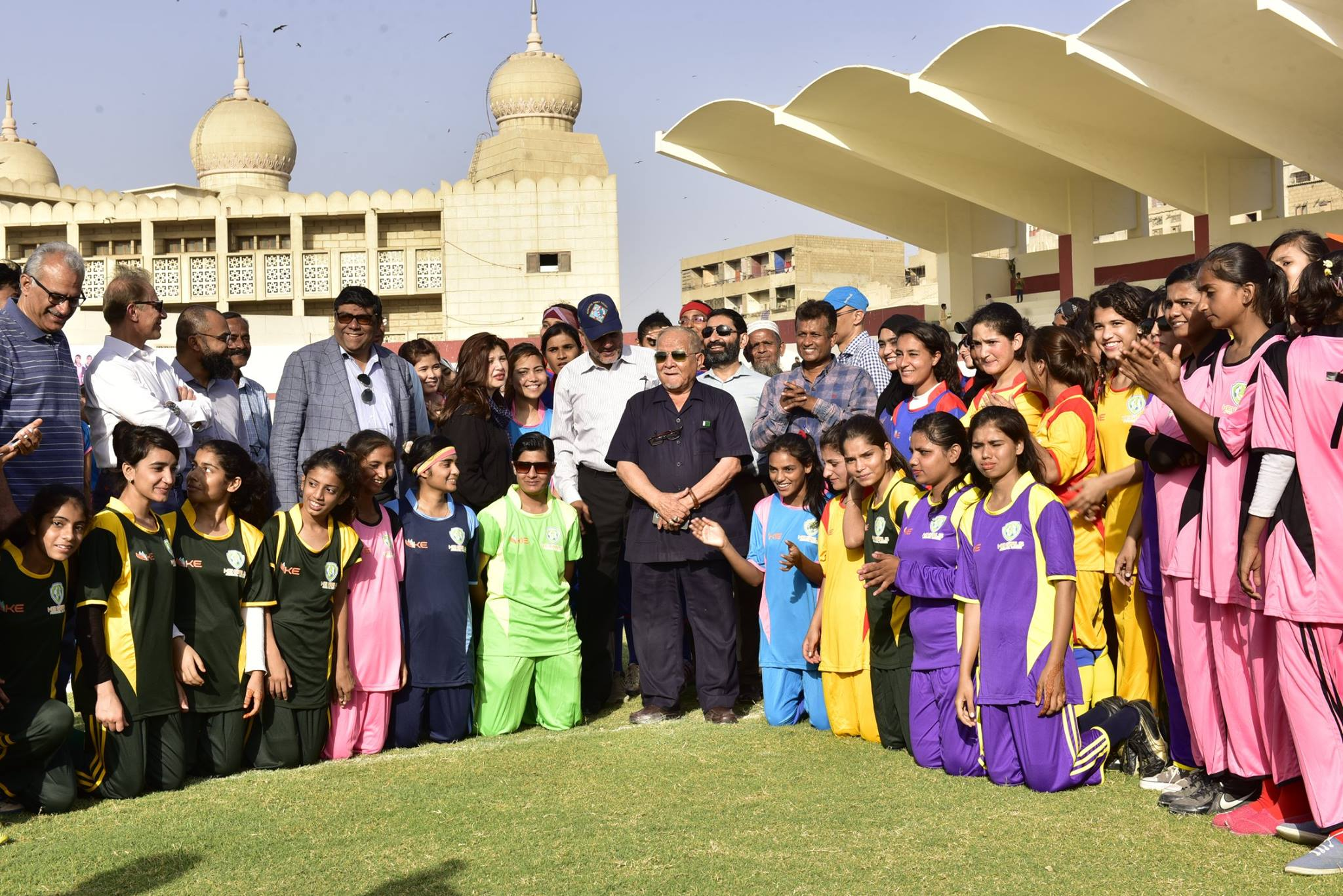 K-Electric Girls Football League launched [The News]