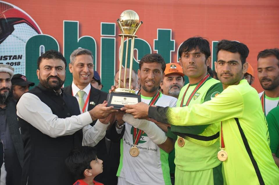Miners, labourers power underdog Dukki to Balochistan Cup title [Express Tribune]