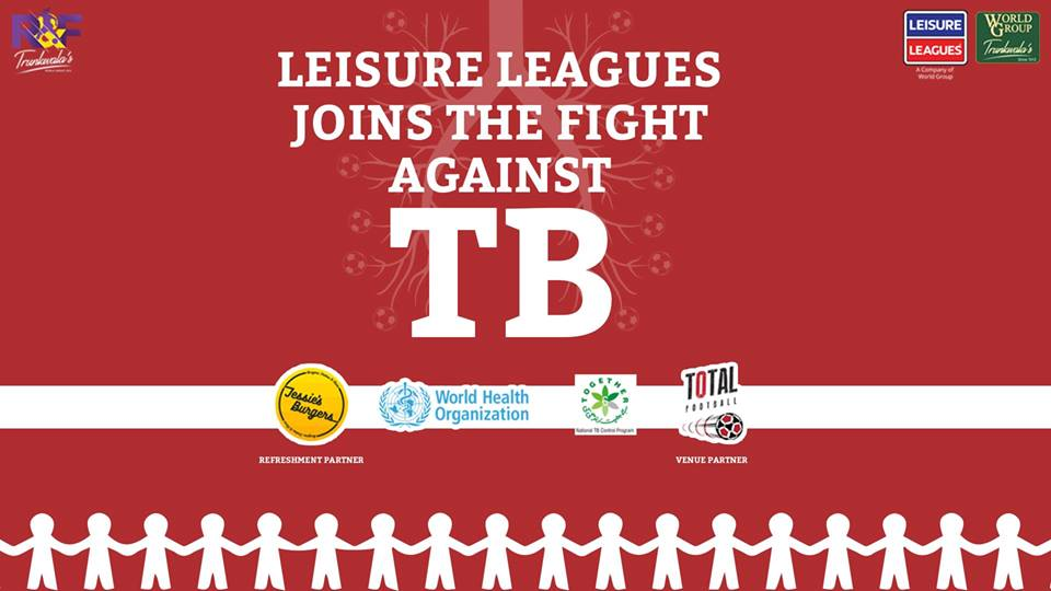 #KickOutTB: Leisure Leagues PK and National TB Program to organize celebrity match to raise awareness