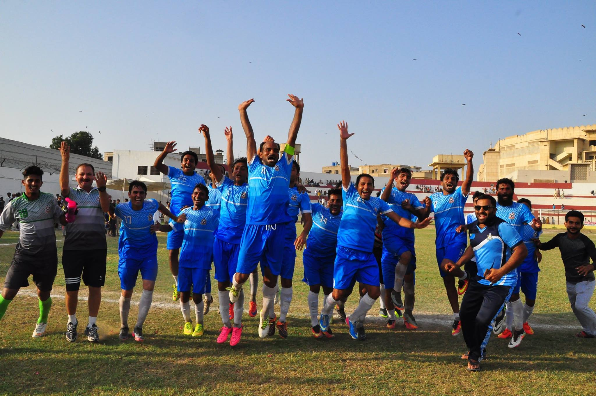 PAF come from behind to claim National Challenge Cup title [The News]