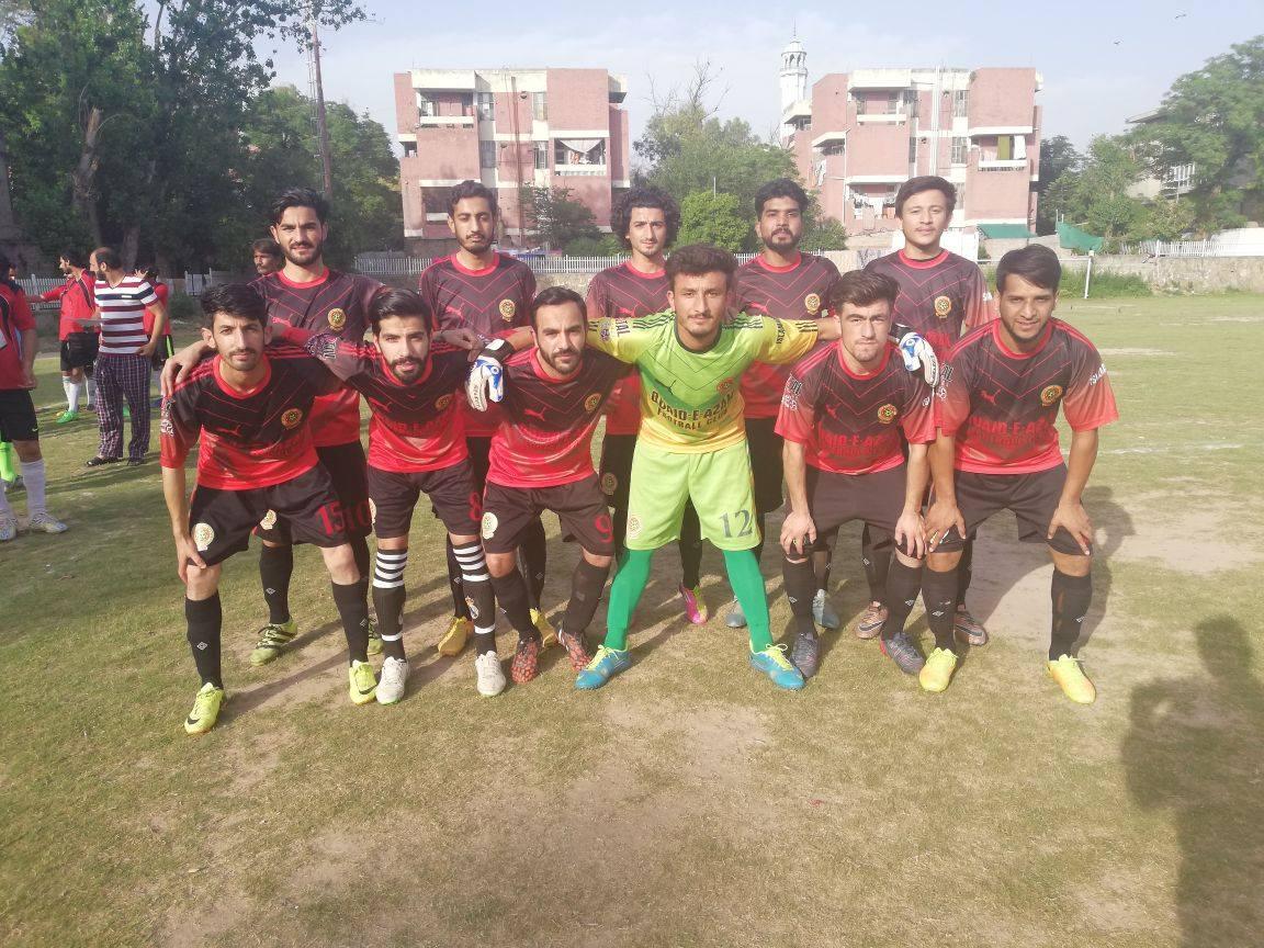 Quaid FC enter Football League final [The Nation]