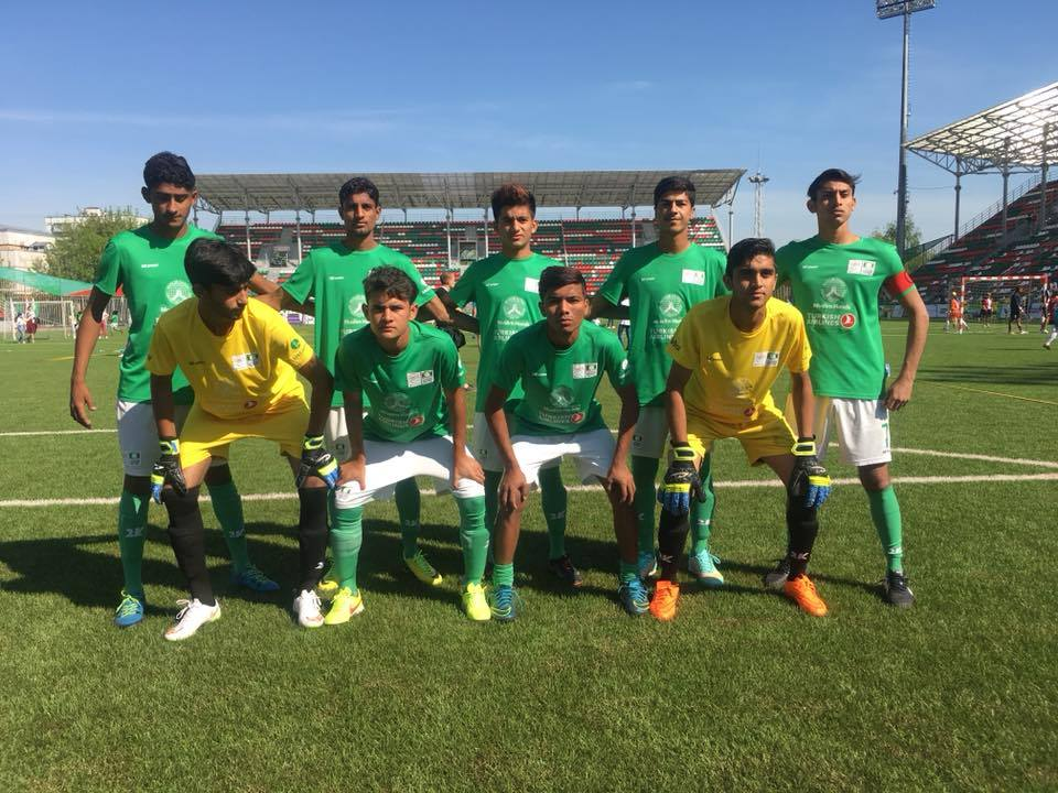 Pakistan in Street Child World Cup semi-final [The Nation]