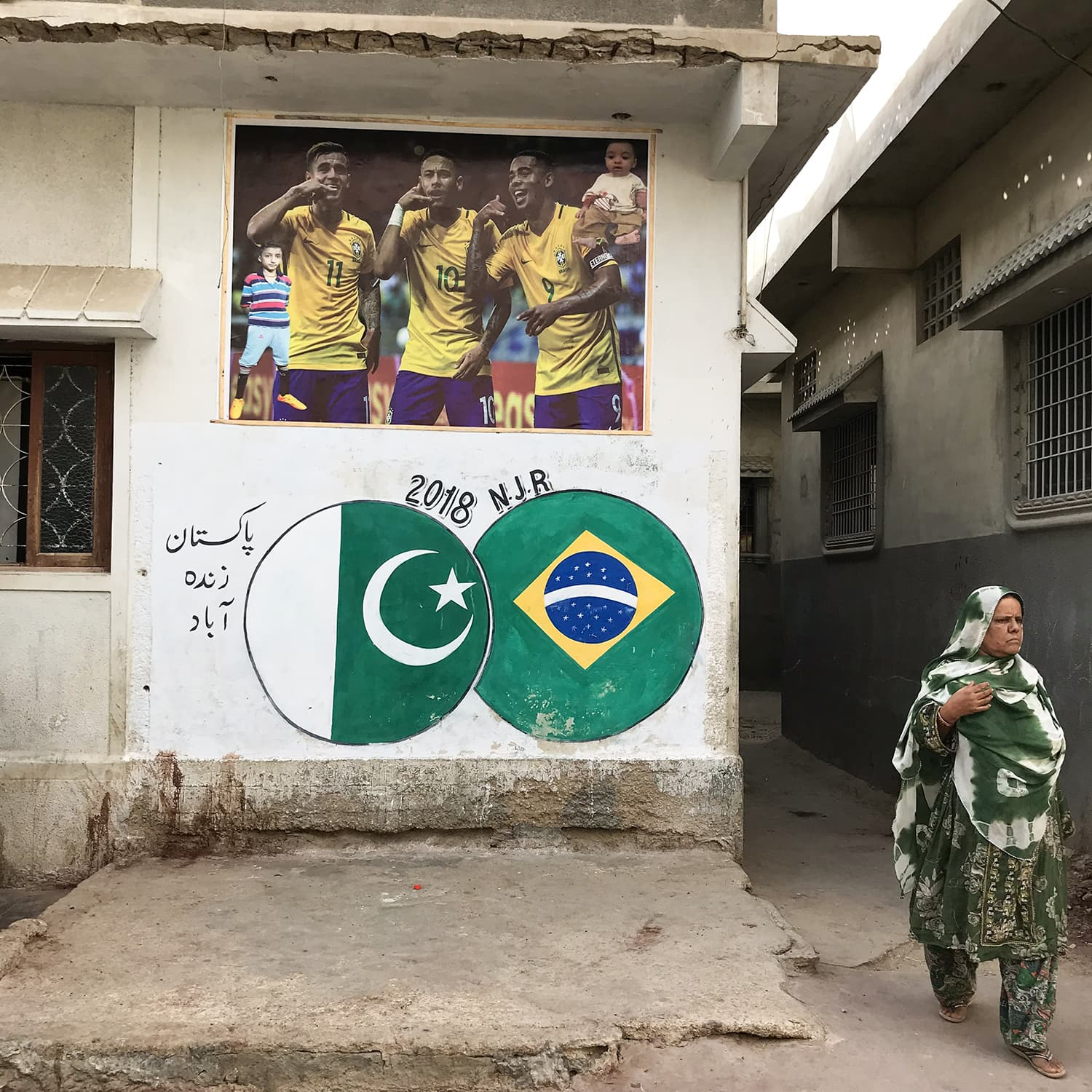 'For a second you'd be mistaken into thinking that Neymar and Messi were from Lyari' [Dawn]