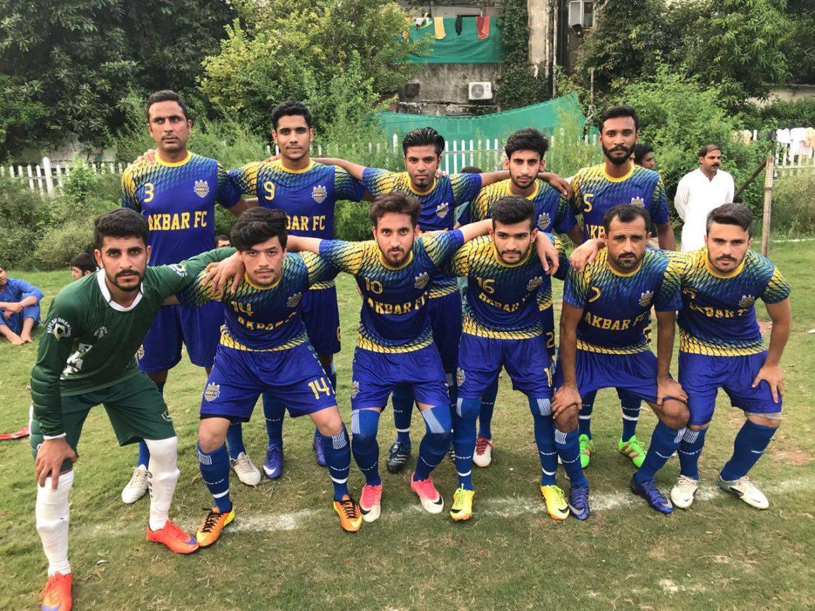 Akbar Club beat Bolan Club in I-Day Football [The Nation]