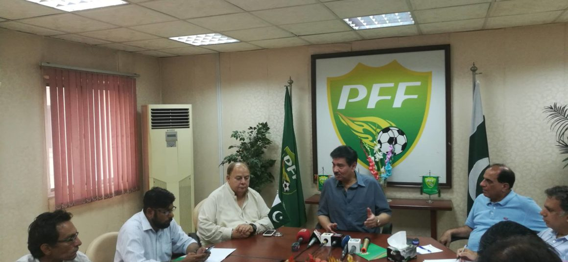 Pakistan being trained well for SAFF Championship: Faisal [The Nation]
