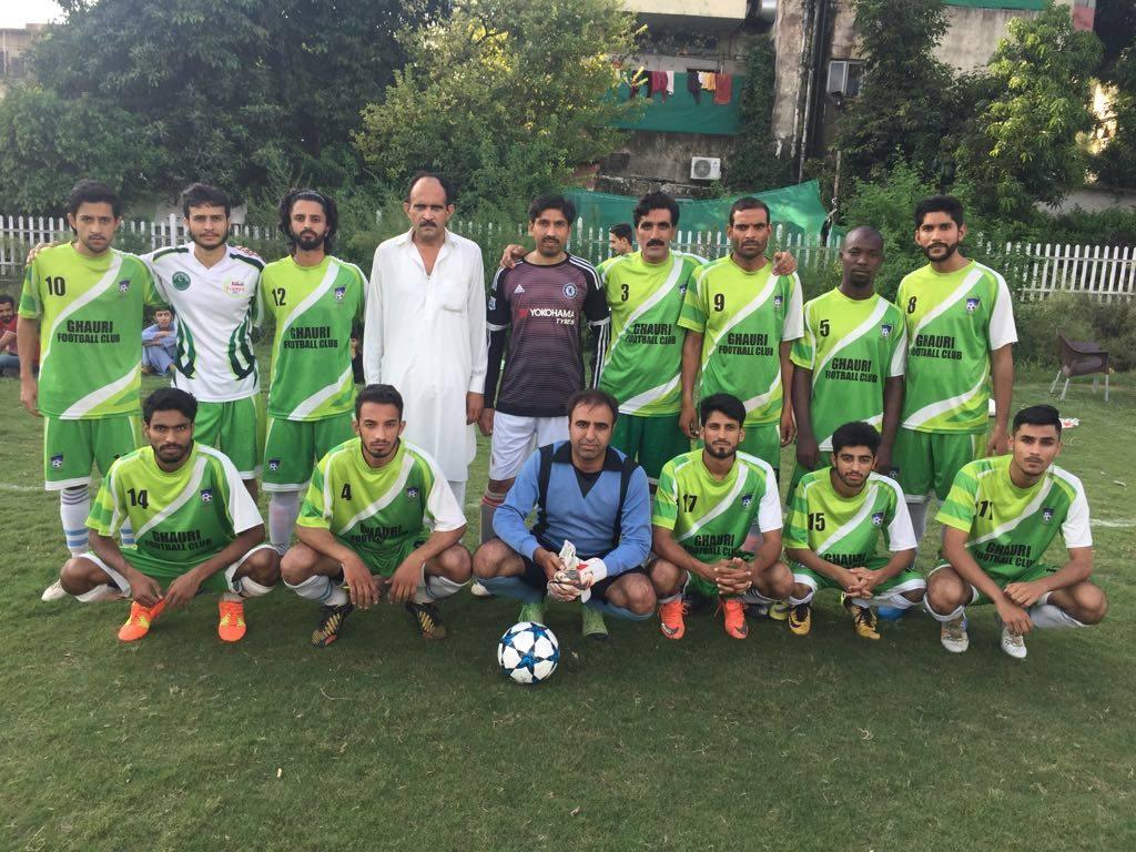 G-8 United, Ghauri Club score wins [The Nation]