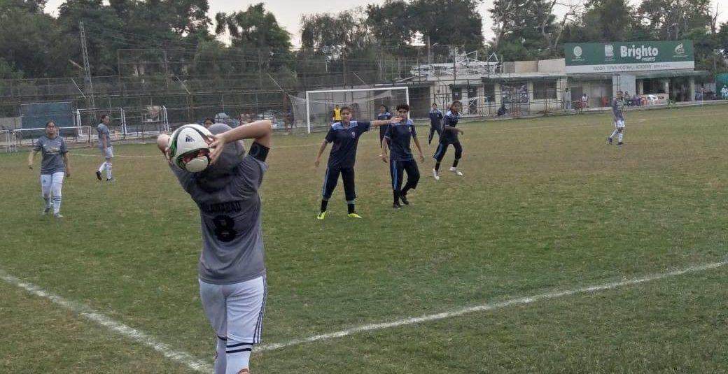 Islamabad in U-19 Women Football final [The Nation]