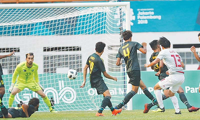 Four-goal Japan roll over Pakistan in Asian Games [Dawn]