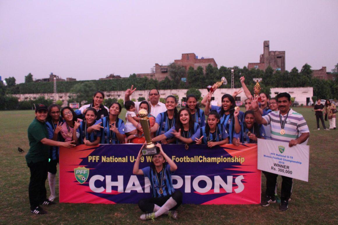 MTWFC win National Women U-19 Football Championship [The Nation]