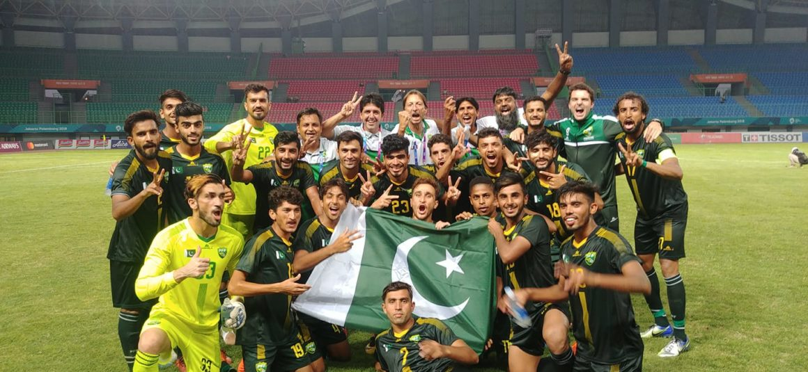 Asian Games football: Pakistan bag first victory after 44 years [Express Tribune]