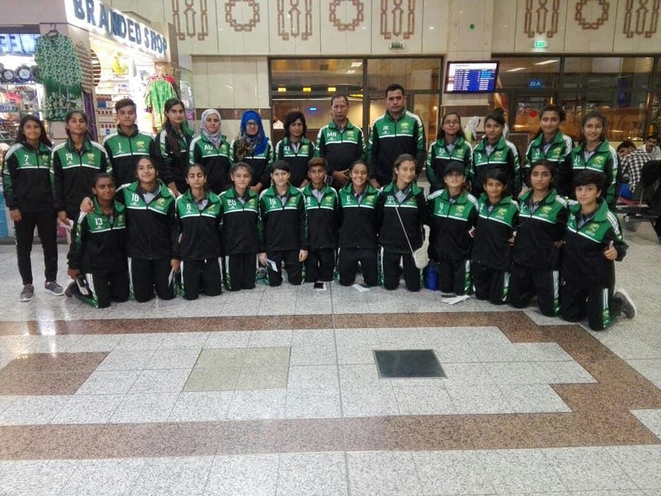 U-15 women team depart for SAFF C'ship [The Nation]