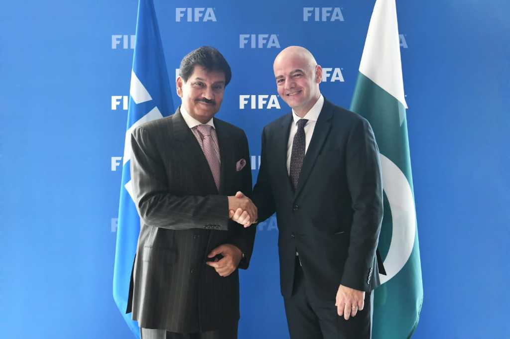 FIFA president Infantino to visit Pakistan: PFF [The News]