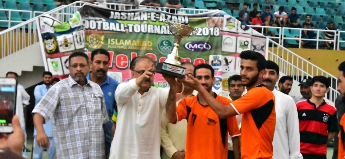 Islamabad Academy Club clinch Azadi Football Cup [The Nation]