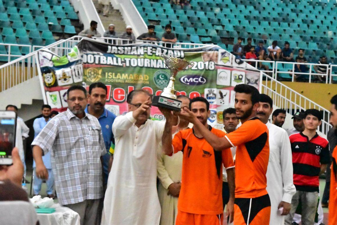 Islamabad Academy Club clinch Azadi Football Cup [The Nation]