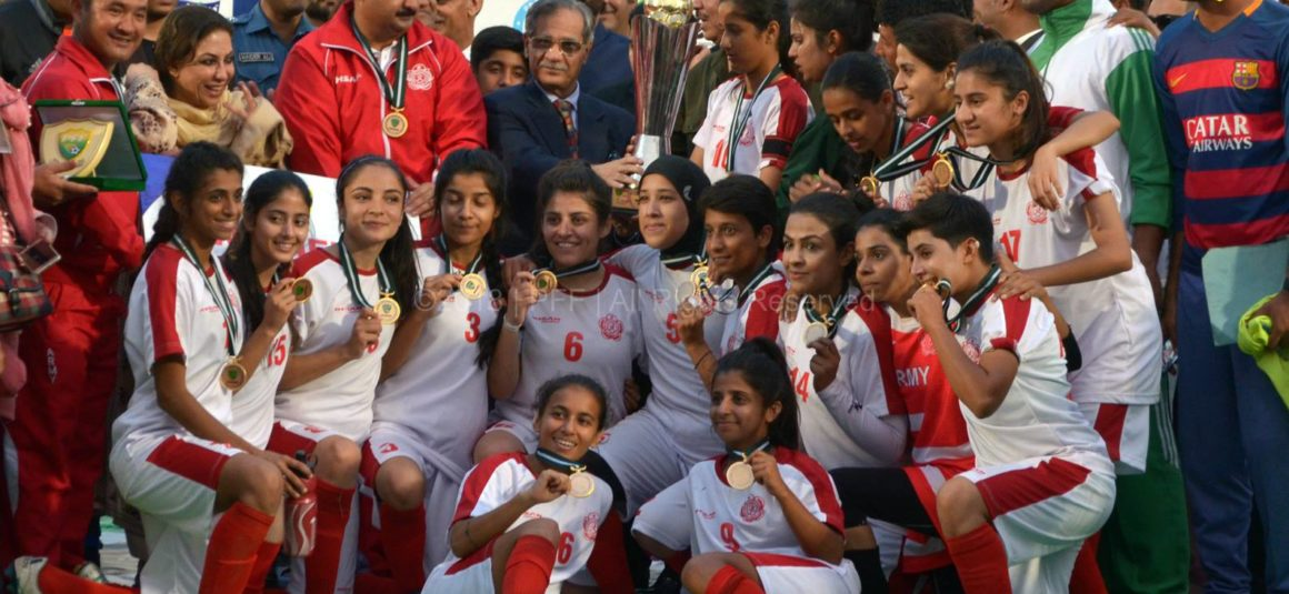Army annex National Women Football trophy [The Nation]