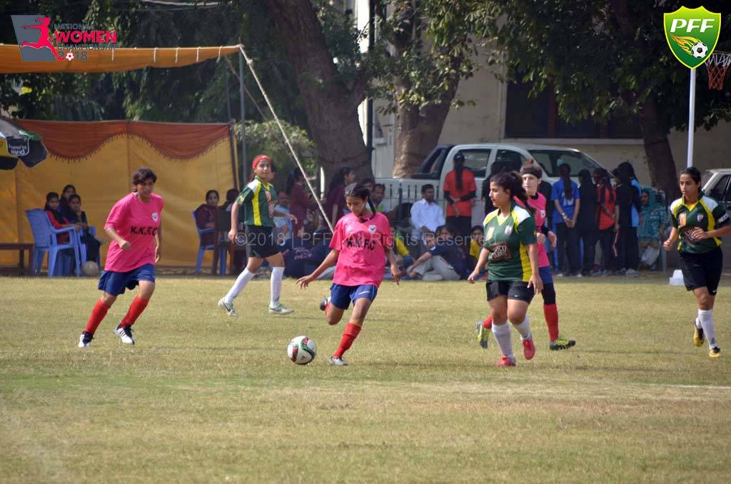 National Women's Championship 2018 updated results