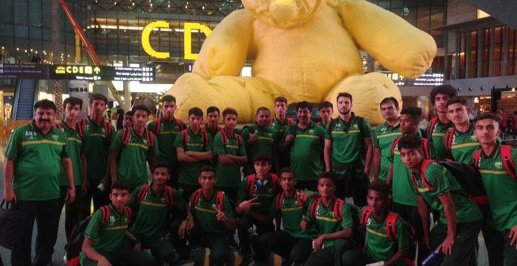 Pak colts leave for Nepal to feature in SAFF U15 C'ship [The News]